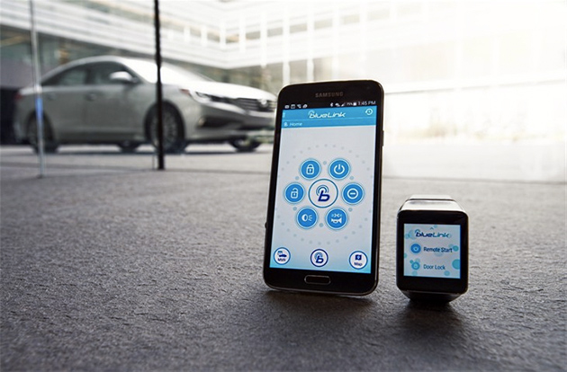 Hyundai BlueLink Android Wear