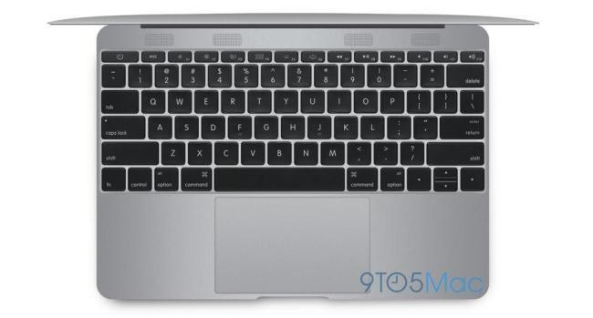 MacBook Air 2015 Oben
