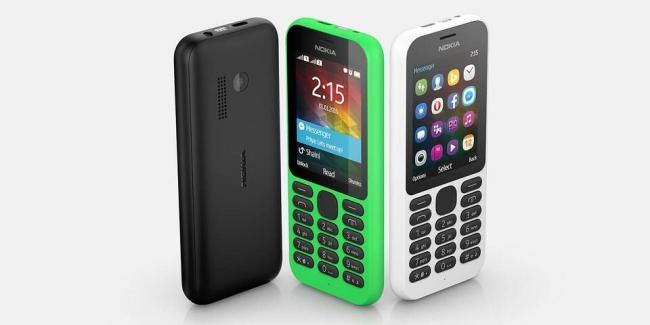 Nokia 215 Header