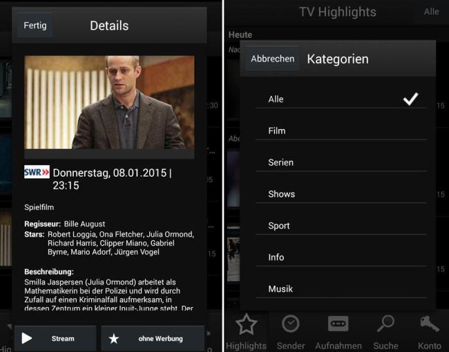 Save.TV App 2