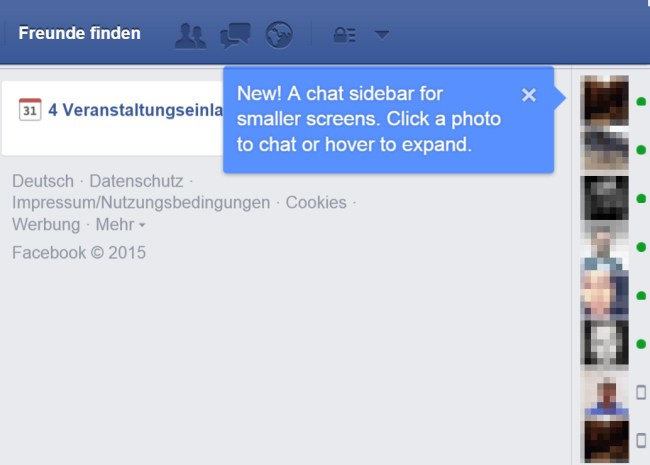 facebook new chat