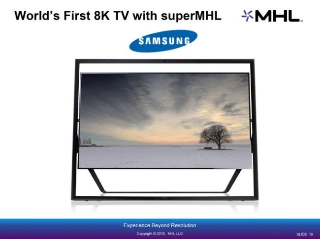 samsung 8k tv supermhl