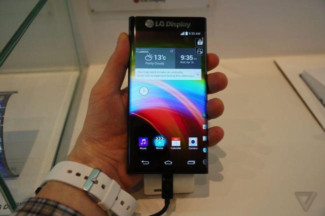 LG Prototyp Active Bending