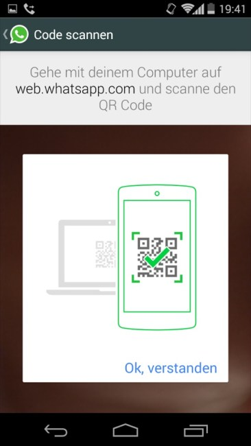 whatsapp qr web messenger chrome