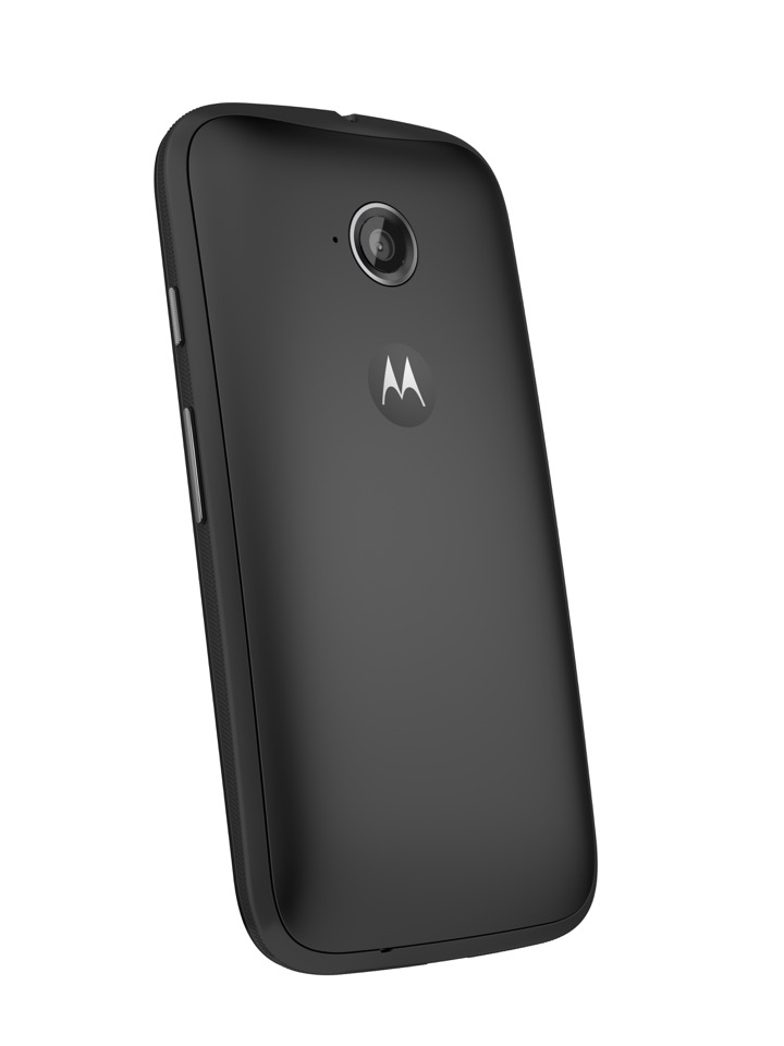 Moto E (2nd Gen.) Back Dynamic - Black