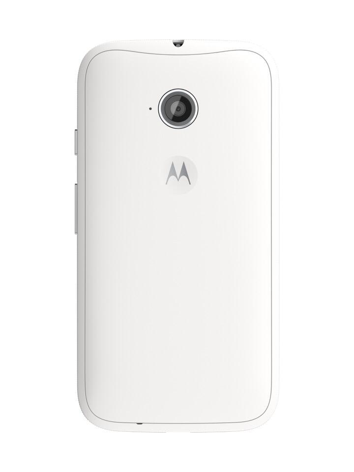 Moto E (2nd Gen.) Back - White