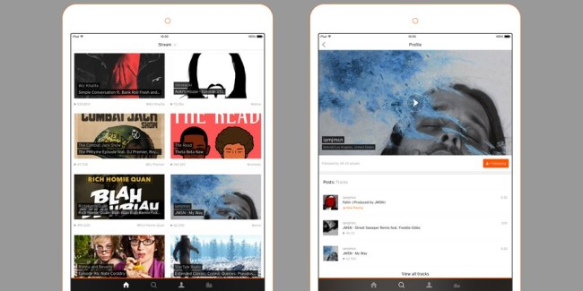 SoundCloud iPad Update (2)