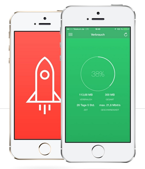 data rocket ios iphone ipad datenverbrauch
