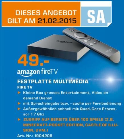 fire tv 49 euro saturn