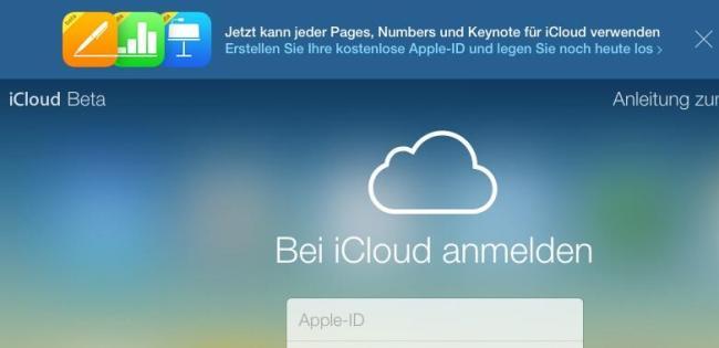 icloud apple id online office