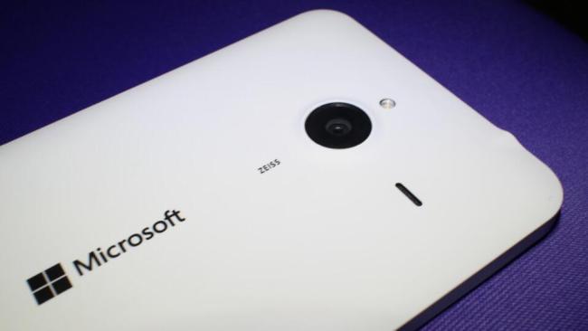 Microsoft Lumia 640 XL zeiss cam