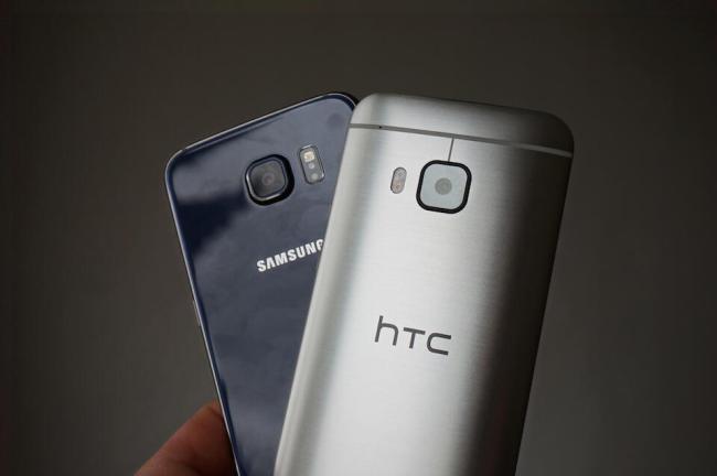 Samsung Galaxy S6 HTC One M9 Vergleich 7