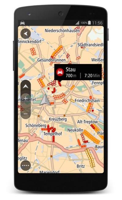 TomTom GO für Android_TomTom Traffic