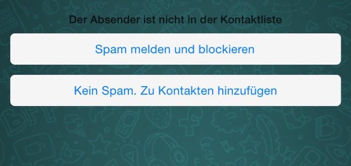 WhatsApp Anti Spam