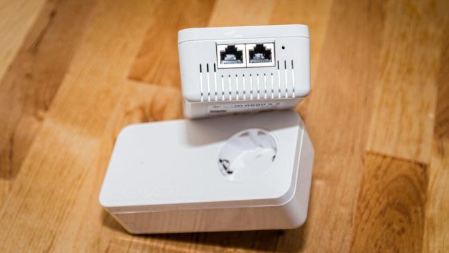 dLAN 1200+ WiFi ac-Anschlüsse