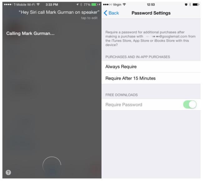 iOS 8.3 Screenshots