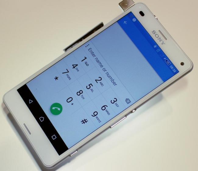 sony xperia z3 compact lollipop phone