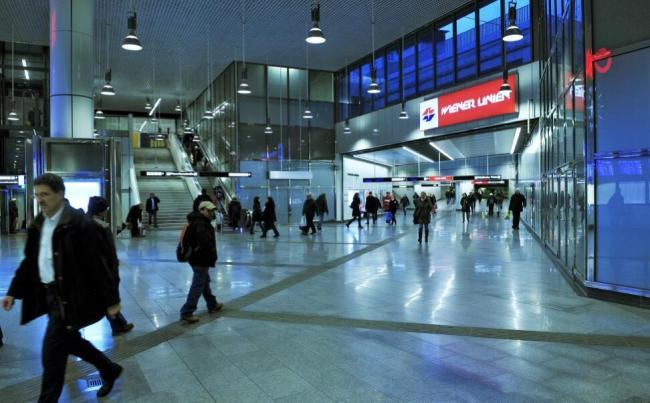 U1, Station Hauptbahnhof