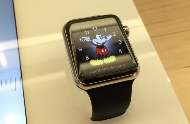Apple Watch Mickey