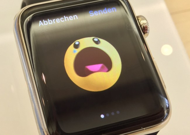 Apple Watch Smiley