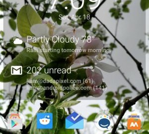 DashClock Material-Design 01