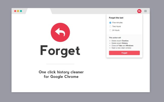 Forget Chrome