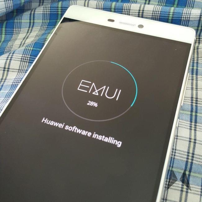 Huawei P8 Firmware-Update 2015-04-24 14.34.28
