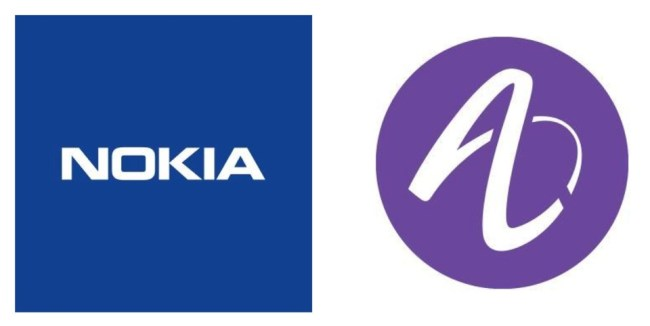 Nokia Alcatel Lucent Logo header
