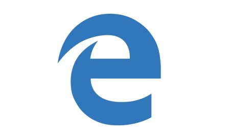 Microsoft Edge Logo Header