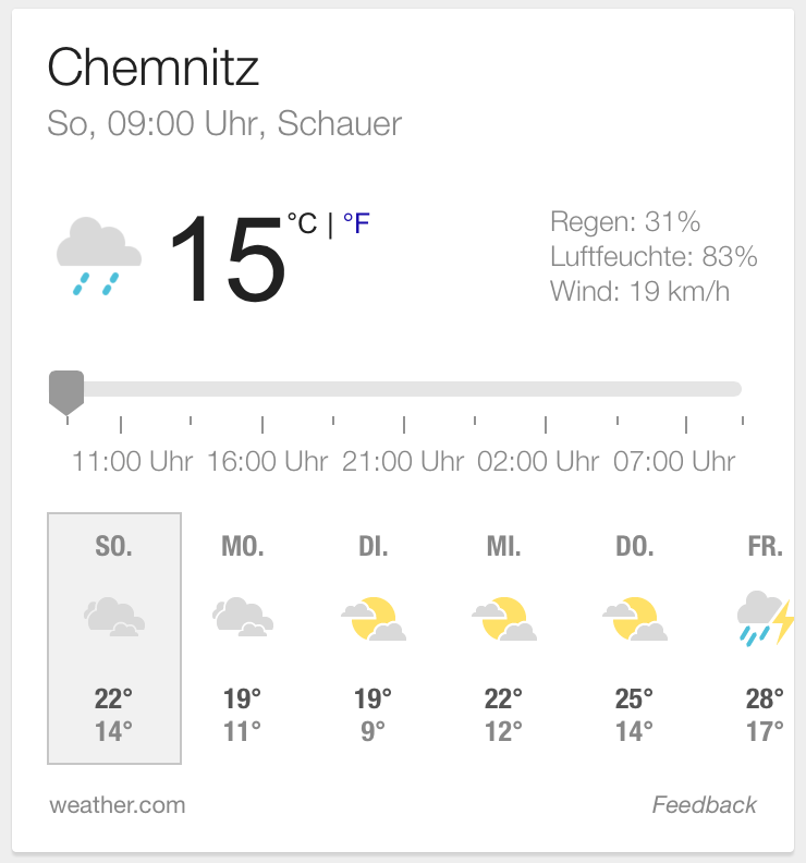 Ok Google Wie Wird Das Wetter