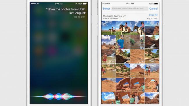 Apple iOS 9 Photos