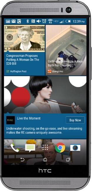 HTC Blinkfeed M8