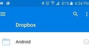 dropbox material