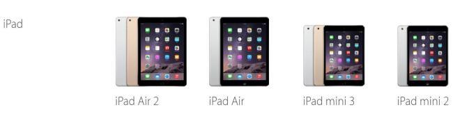 Apple-Store nach Entfernen des iPad mini