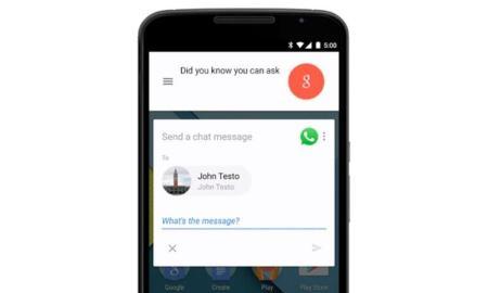 Googler Now WhatsApp Sprache