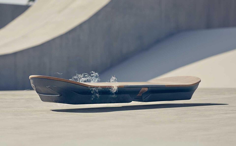 Lexus zeigt sein Hoverboard