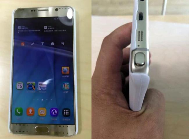 Samsung Galaxy Note 5 Prototyp