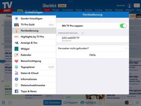 TV Pro iOS1