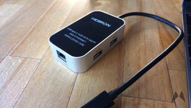 USB-C-Multiport-Hub für das Macbook 2015 20150725_072150