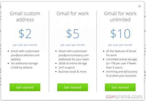 gmail custom adress