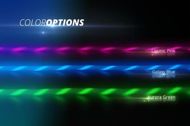 light pulse Farben
