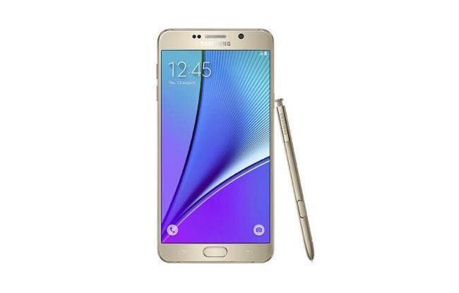 Samsung Galaxy Note 5 Header