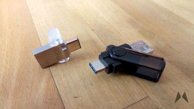 SanDisk und Kingston USB Type-C USB 3.0 Stick 3