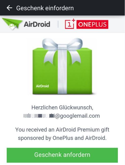 airdroid oneplus