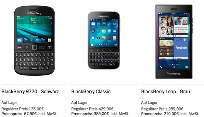 blackberry coole preise