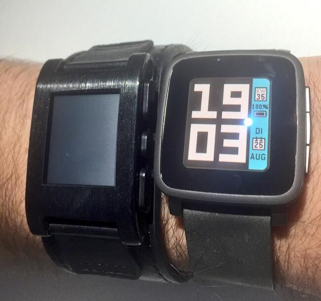 pebble vs pebble time steel