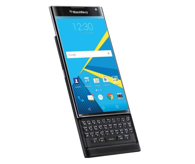 BlackBerry Venice Priv Leak Header