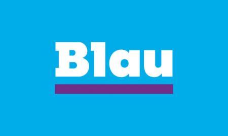 Blau-Logo