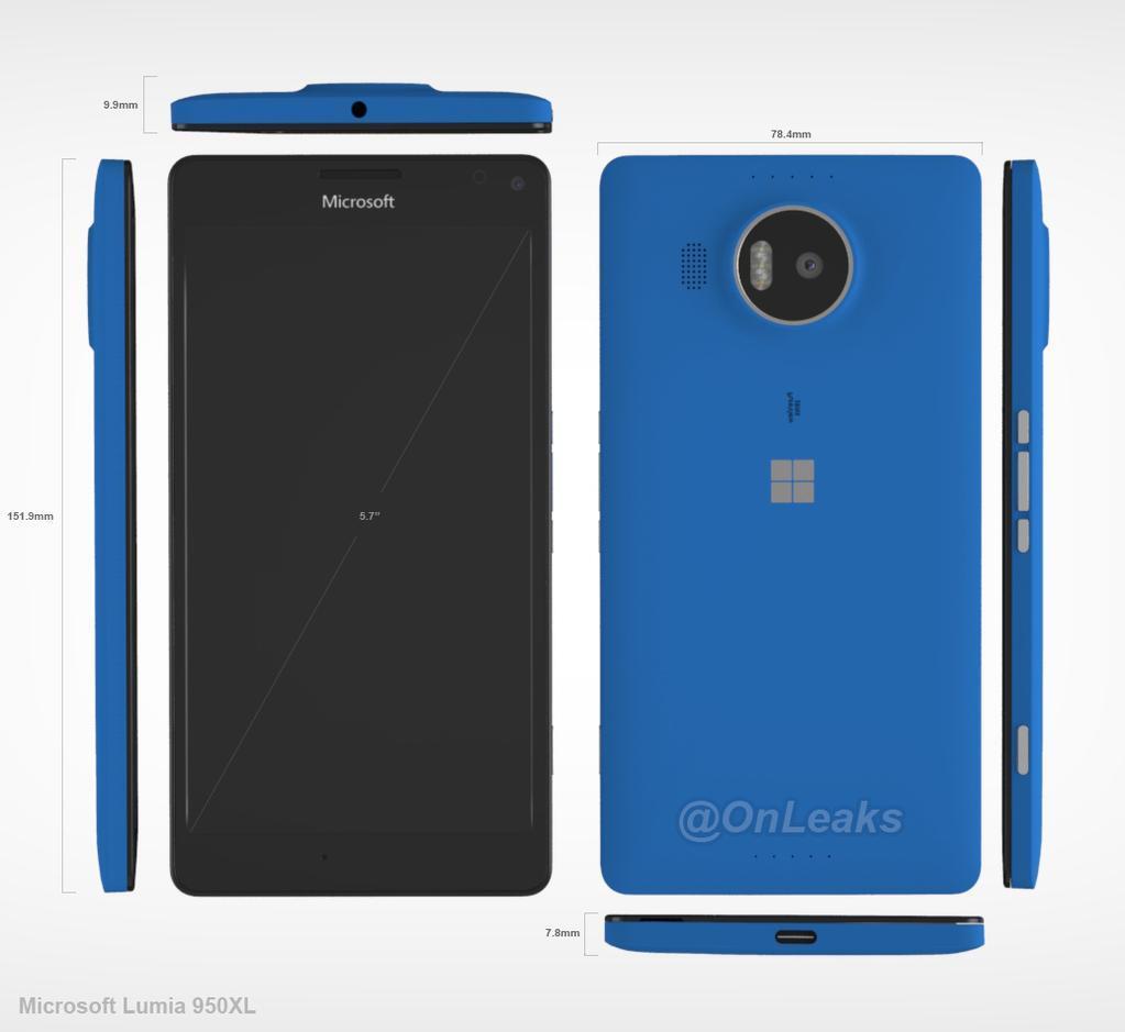 Lumia 950 XL CAD