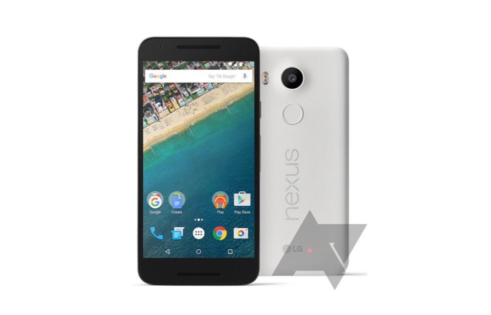 Nexus 5X Leak Header